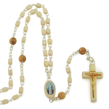 Miraculous Wooden Beads Rosaries