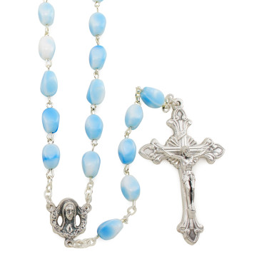 Glass Cone Beads Rosaries