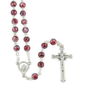 Speckeld Quartz Beads Rosaries