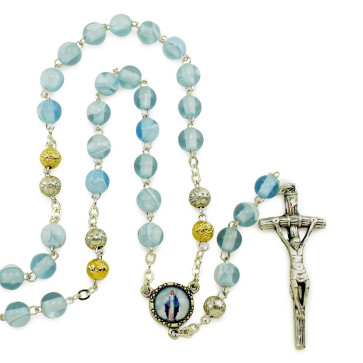 Miraculous Silk Beads Rosaries