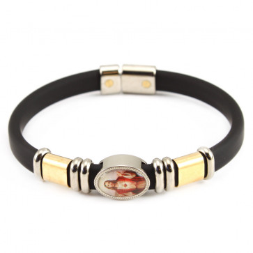Sacred Heart of Jesus Catholic Bracelet
