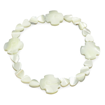 Mother of Pearl Catholic Bracelet
