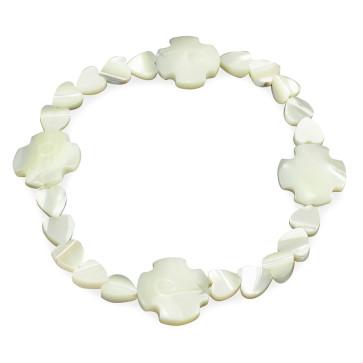 Mother of Pearl Catholic Bracelet