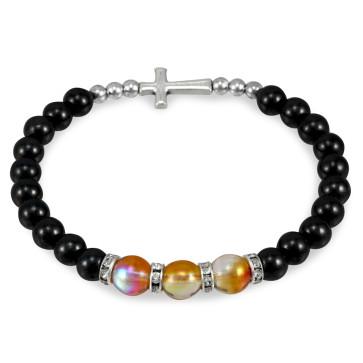 Hematite Beads Rosary Bracelet