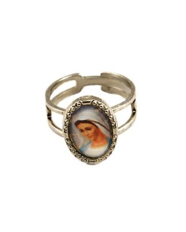 Lady of Medjugorje Catholic Ring