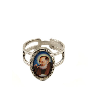 Padre Pio Catholic Ring