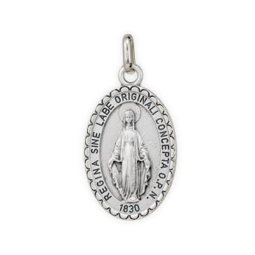 Our Lady of Miracles Catholic Medal