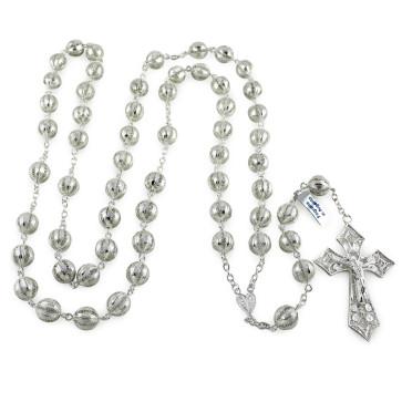 Sterling SIlver Filigree Catholic Rosaries