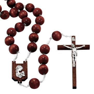 Wooden Wall Rosary Catholic