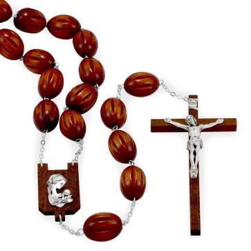 Wall Rosary Large Beads Catholic