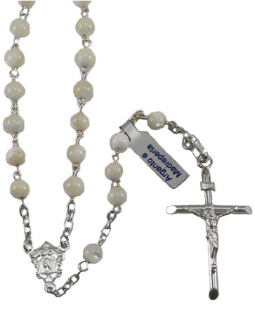 Mother of Pearl Beads Rosary