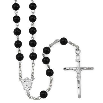 Onyx Beads Catholic Rosary