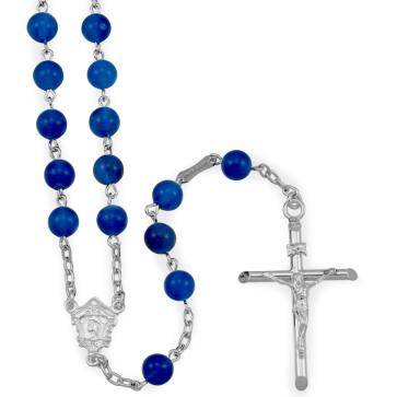 Agate Beads Catholic Rosary