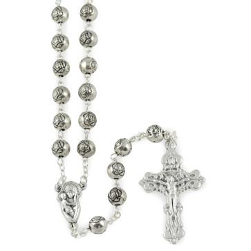 Rosebud Beads Catholic Rosary
