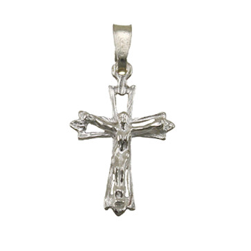 Pendant Sterling Silver Crucifix