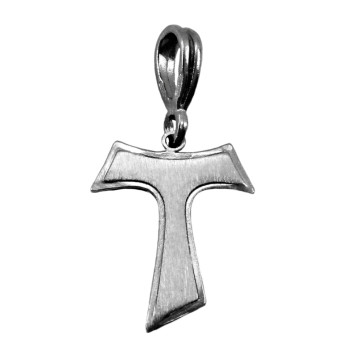 Pendant Sterling Silver Tau Cross