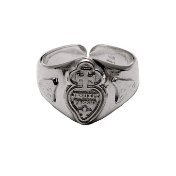 Catholic Sterling Silver Passionist Ring