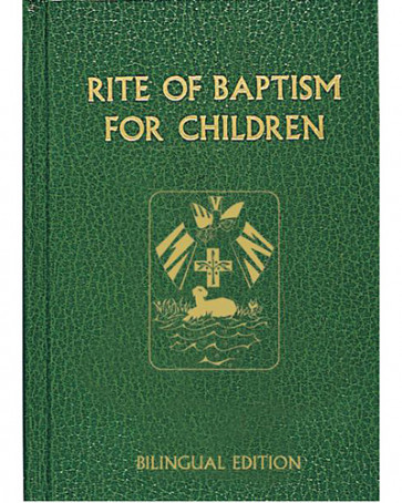 Rite of Baptism for Children Book