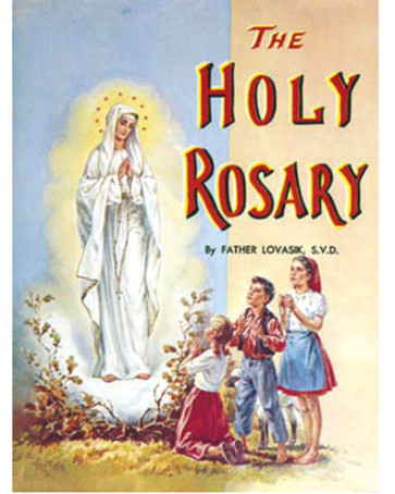 The Holy Rosary Catholic Book