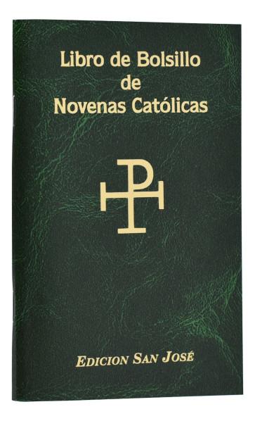 Libro de Bolsillo de Novenas Catolicas Catholic Book