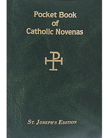 Pocket Book of Catholic Novenas Books