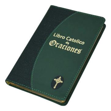 Libro Catolico De Oraciones Green Cover