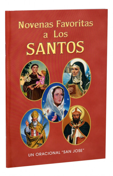 Novenas Favoritas a Los Santos  Catholic Book