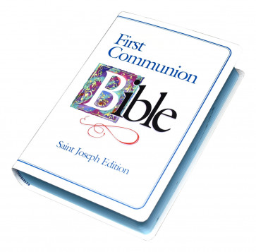First Communion Catholic Bible For Boys