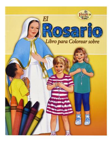 Para Colorear Sobre El Rosario Coloring Book