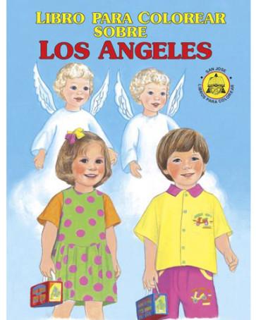 Para Colorear Sobre Los Angeles Coloring Book