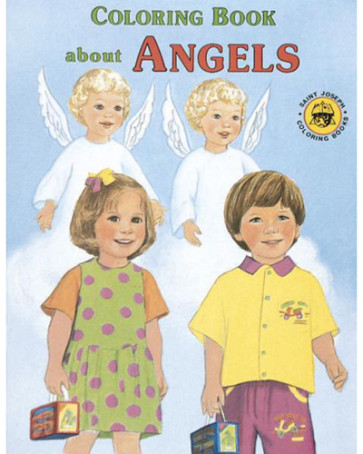 Catholic Coloring Book About  Angels