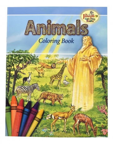 Animals of the Bible Coloring Books