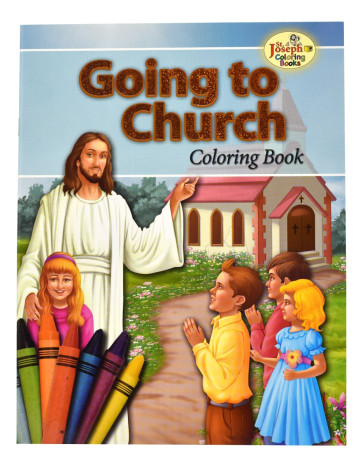 Going To Church Coloring Books