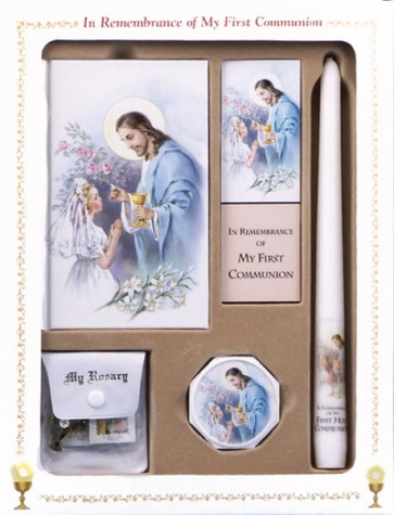 Catholic First Communion Deluxe Box Set for Girls - Good Shepherd Edition