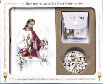 First Mass Book (Cathedral) Box Set - Girls