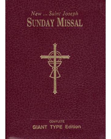 Sunday Missal Catholic Book