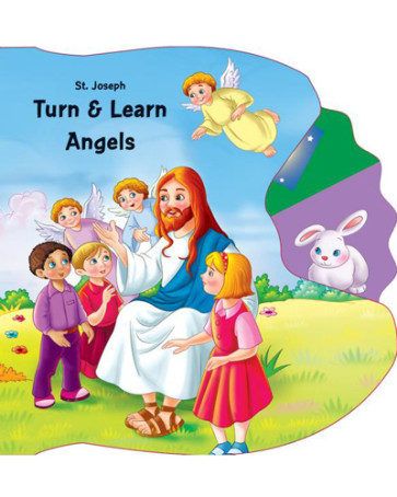 Saint Joseph Turn & Learn Angels Catholic Book