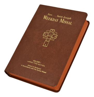 St Joseph Weekday Missal Large Type Volume I