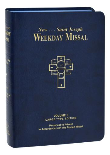 St. Joseph Weekday Missal Large Type Volume II