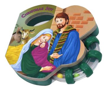 Christmas Joy Rattle Catholic Book