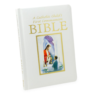 A Catholic Child's First Communion Bible for Boys - Traitions