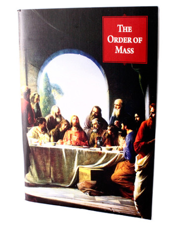 The Order of Mass Booklet