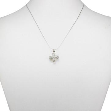 Catholic Crystal Pendant