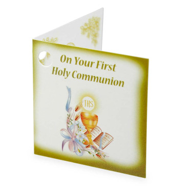 Frst Communion Gift Tag