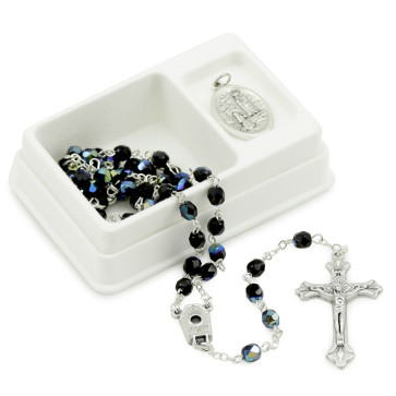 Lady of Lourdes Rosary Gift Set