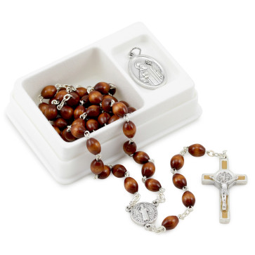 St Benedict Rosary Gift Set