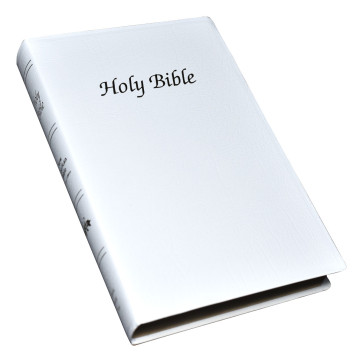 First Communion Bible - White