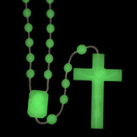 Glow in the Dark Phosphorus Plastic Rosary