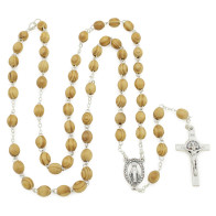 Our Lady of Miracle Rosary with Clasp