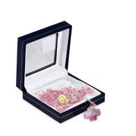 Pink Swarovski Crystal Beads Rosary
